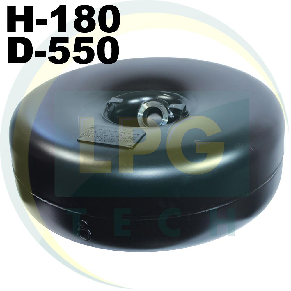 Тороидальный баллон 180х550 мм 31 литр Green Gas