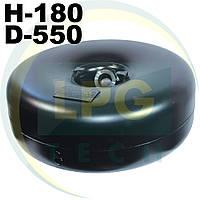 Тороидальный баллон 180х550 мм 31 литр Green Gas, фото 1