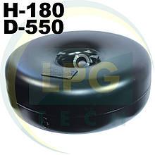 Тороїдальний балон 180х550 мм 31 літр Green Gas