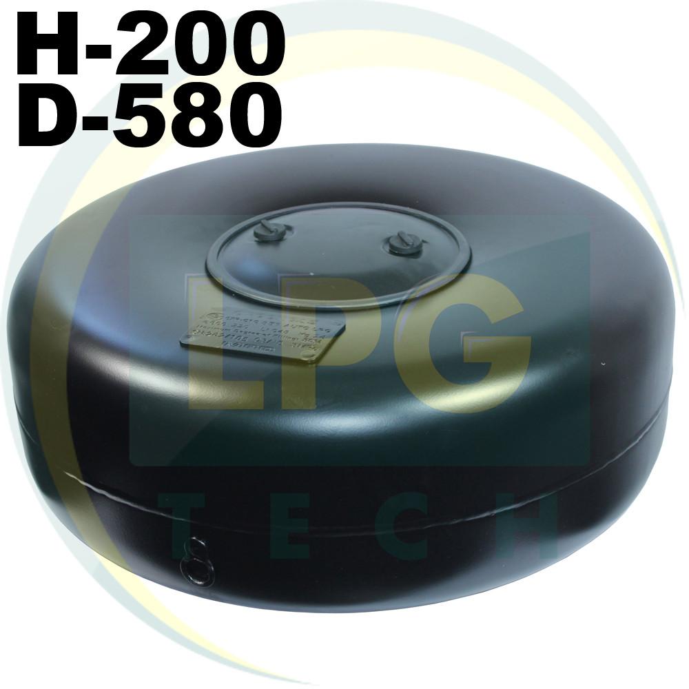 Тороидальный баллон 200х580 мм 40 литров Atiker