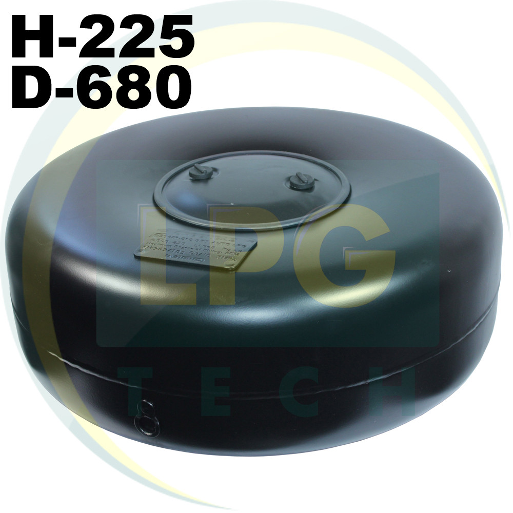 Тороидальный баллон внутренний 65 литров Green Gas 225х680 мм