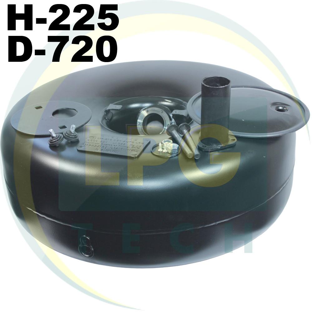 Тороидальный баллон 225х720 мм 72 л Green Gas