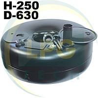 Тороидальный баллон Green Gas 62 литра 250х630 мм, фото 1