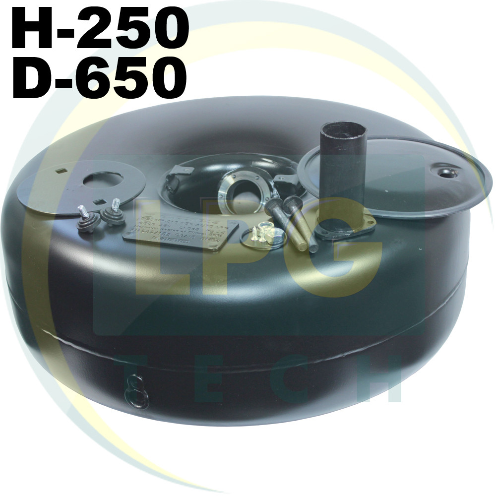 Тороидальный баллон 67 литров 250х650 мм Green Gas