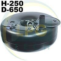 Тороидальный баллон 67 литров 250х650 мм Green Gas, фото 1