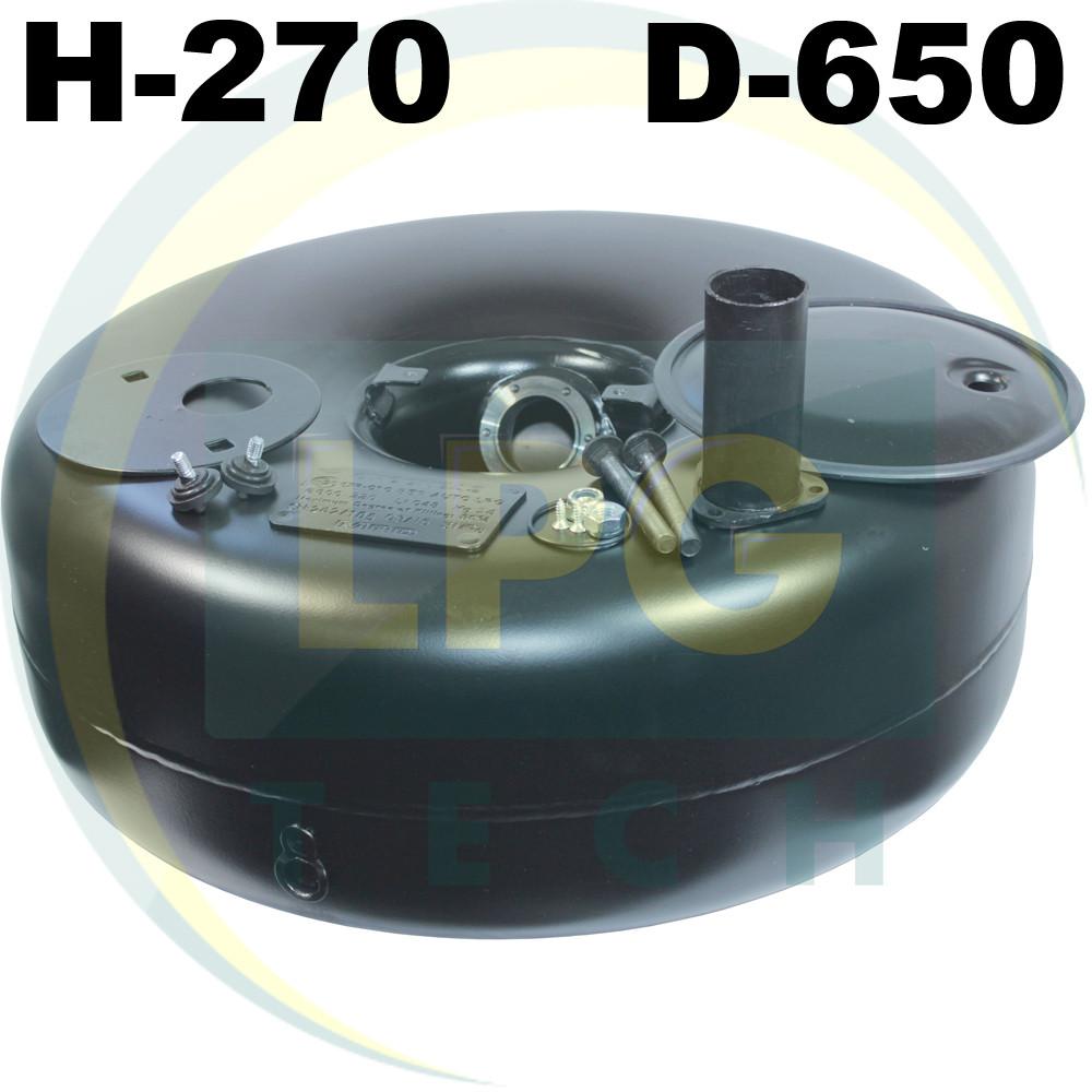 Тороидальный баллон 270х650 мм 72 литра Green Gas