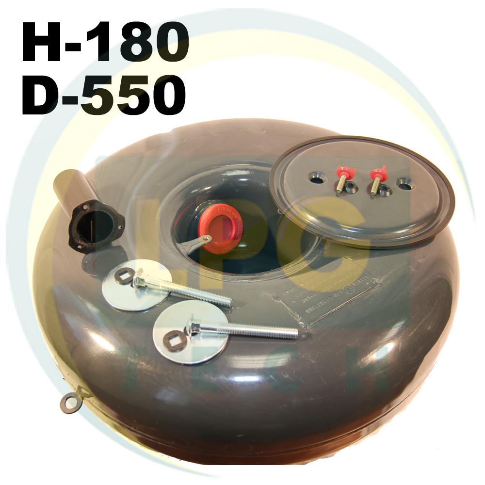 Тороидальный баллон Atiker 31 литр (180х550 мм)