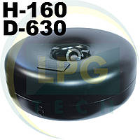 Тороидальный баллон Green Gas 37 литров 160х630 мм, фото 1
