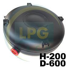 Баллон пропан тороидальный Atiker 45 литров 200х600 мм наружный полнотелый