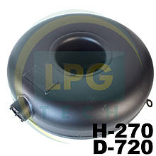 Баллон наружный пропан тороидальный Atiker 89 литров 270х720 мм