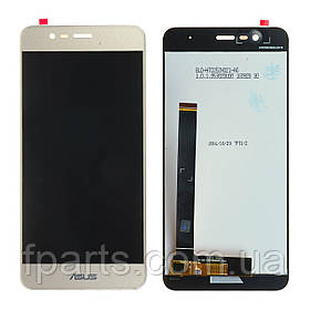 Дисплей для Asus ZenFone 3 Max (ZC520TL, X008D) с тачскрином, Gold