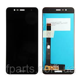Дисплей для Asus ZenFone 3 Max (ZC520TL, X008D) с тачскрином, Black