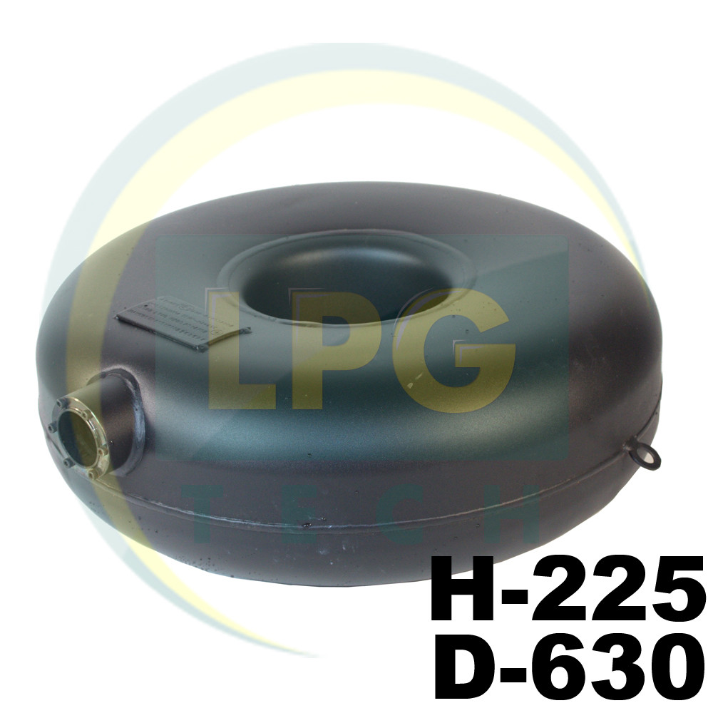 Баллон пропан тороидальный наружный Atiker 54 литра 225х630 мм