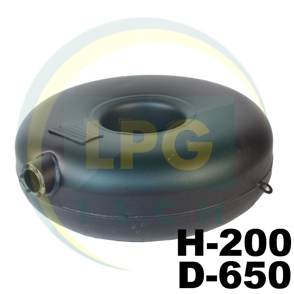 Баллон пропановый Atiker 51 литр 200х650 мм под запасное колесо наружный
