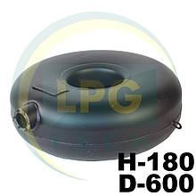 Баллон пропан наружный тороидальный Atiker 38 литров 180х600 мм
