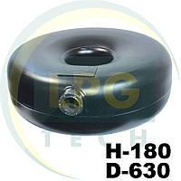Тороидальный баллон наружный 44 литра 180х630 мм Green Gas