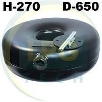 Тороидальный баллон наружный 270х650 мм 72 литра Green Gas, фото 1