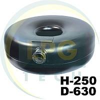 Тороидальный баллон наружный Green Gas 62 литра 250х630 мм