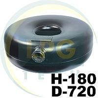 Тороидальный баллон наружный Green Gas 54 литра 180х720 мм, фото 1