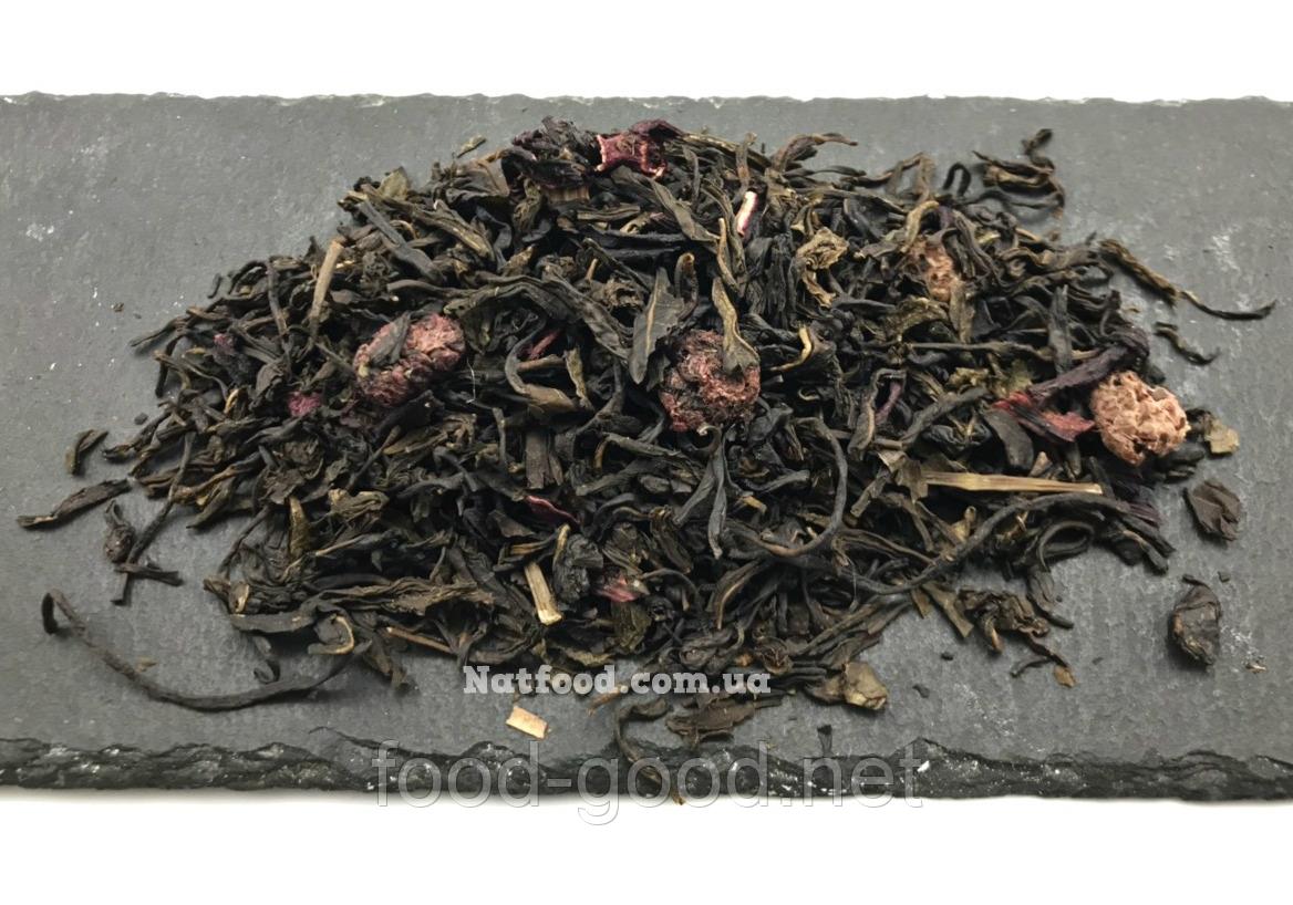"""Чай зеленый купаж """"Малиновый десерт"""", 100г"""