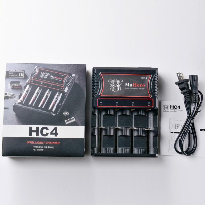 Зарядное устройство 4 слота Mahero HC4 charger (ОПТ)