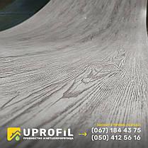 Профнастил Белое Дерево / RAL 7036 3д двухсторонний 0.42 мм, фото 2