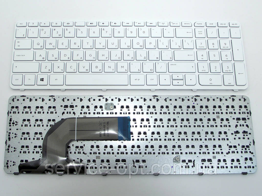 Клавиатура для ноутбука HP Pavilion 15 15-E, 15E, 15-N, 15N, 15-G, 15G, 15-R, 15R Series, HP 250 G3, 255 G3,