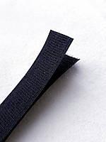 Липучка для одежды, ширина 2 см, цвет черный