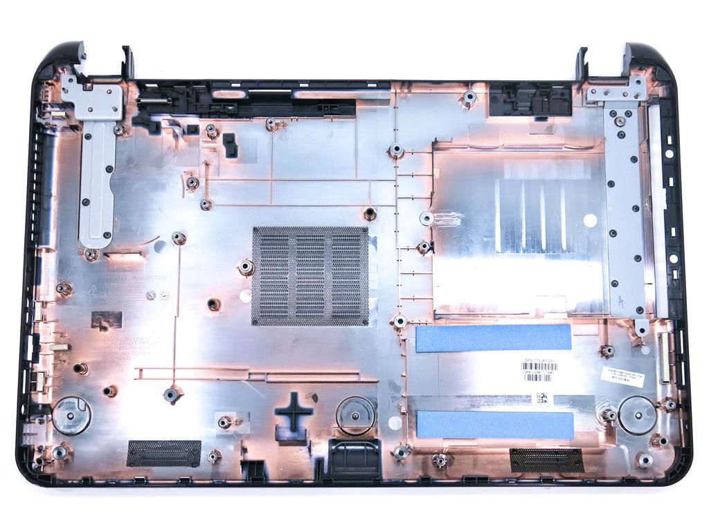 Корпус для ноутбука HP 15-G,15-R, 15-T, 15-H, 250, 255, 256 G3, 15-Gxxxx, NO VGA(Нижняя крышка (корыто)).