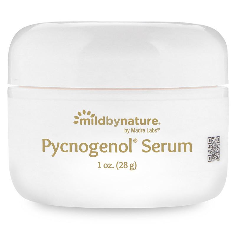 Сыворотка-крем с пикногенолом, деликатный уход за кожей лица, Madre Labs, 28 грамм