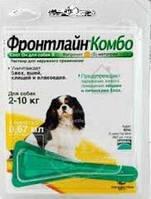 Капли Фронтлайн комбо д/собак  2-10кг(s) монопипетка