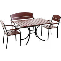 Комплект мебели Микс-Лайн Фелиция махагон
