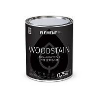 "Аква-антисептик для дерева WOODSTAIN ""ELEMENT PRO"" 0.75 л белый"