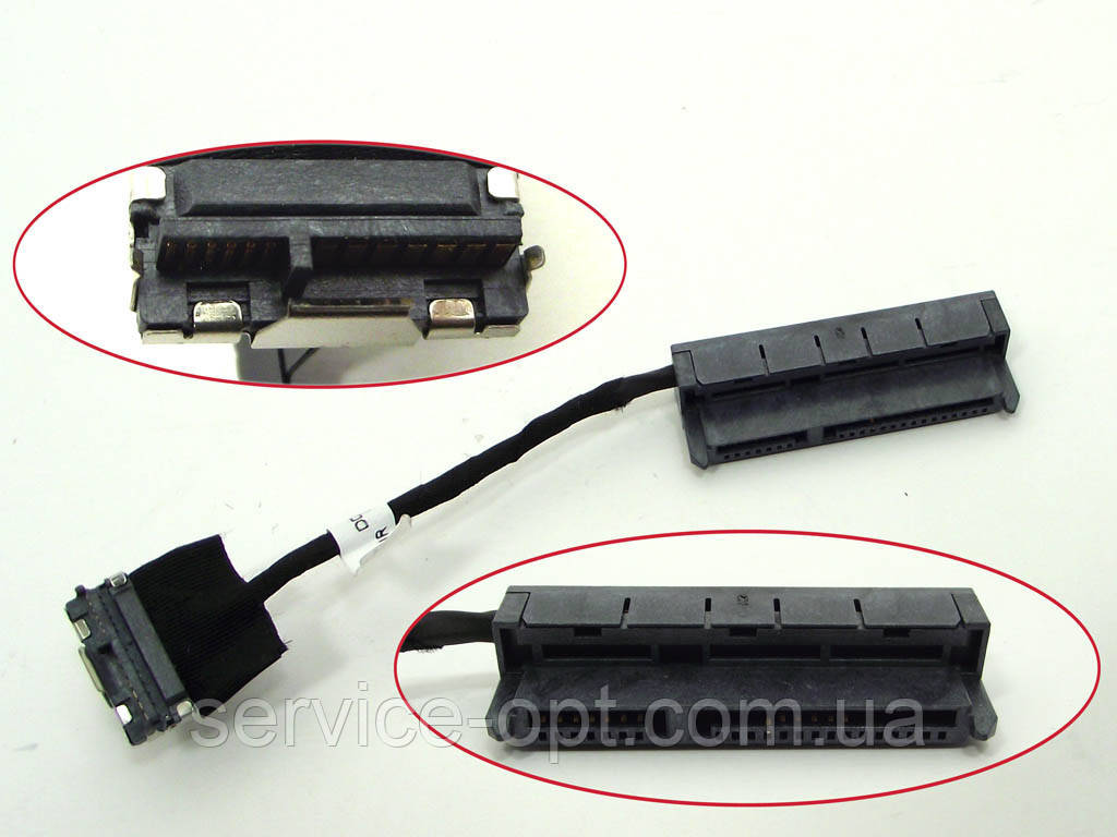 Шлейф жесткого диска (HDD) для ноутбука HP G4, G6, CQ42, CQ43, CQ62, G42, G62 (DD0AX6HD100 AX6)