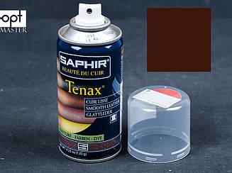 Аэрозольный краситель для гладкой кожи Saphir Tenax Spray, 150 мл, цв. средний табак (35) (0823)