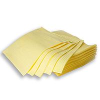 Нагрудники для пациента стоматологические желтые ящик 500шт (Украина)