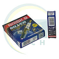 Свечи зажигания Brisk Silver DR15YS.4K (упаковка 4 штуки), фото 1
