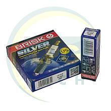 Свечи зажигания Brisk Silver LR15YS.4K (4 штуки)