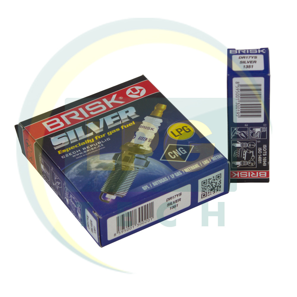 Свічки запалювання Brisk Silver DR17YS.4K 1351