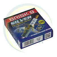 Свечи зажигания Brisk Silver LR17YS.4K (упаковка 4 шт.), фото 1