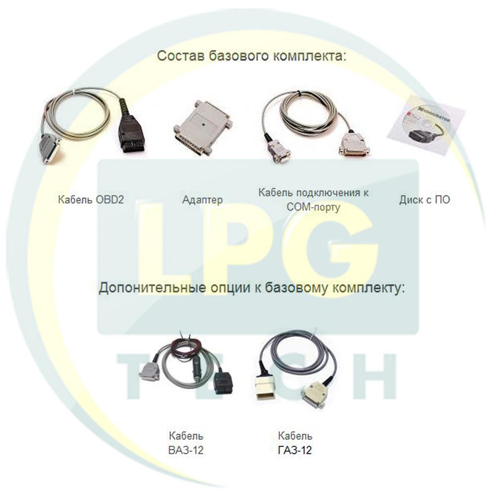 Диагностический комплект Сканматик (с разъемами ВАЗ-12 и ГАЗ-12)