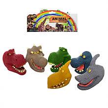 Пальчиковый театр Z03PT динозавры 6шт, 7см, в кульке, 19,5-30-6см