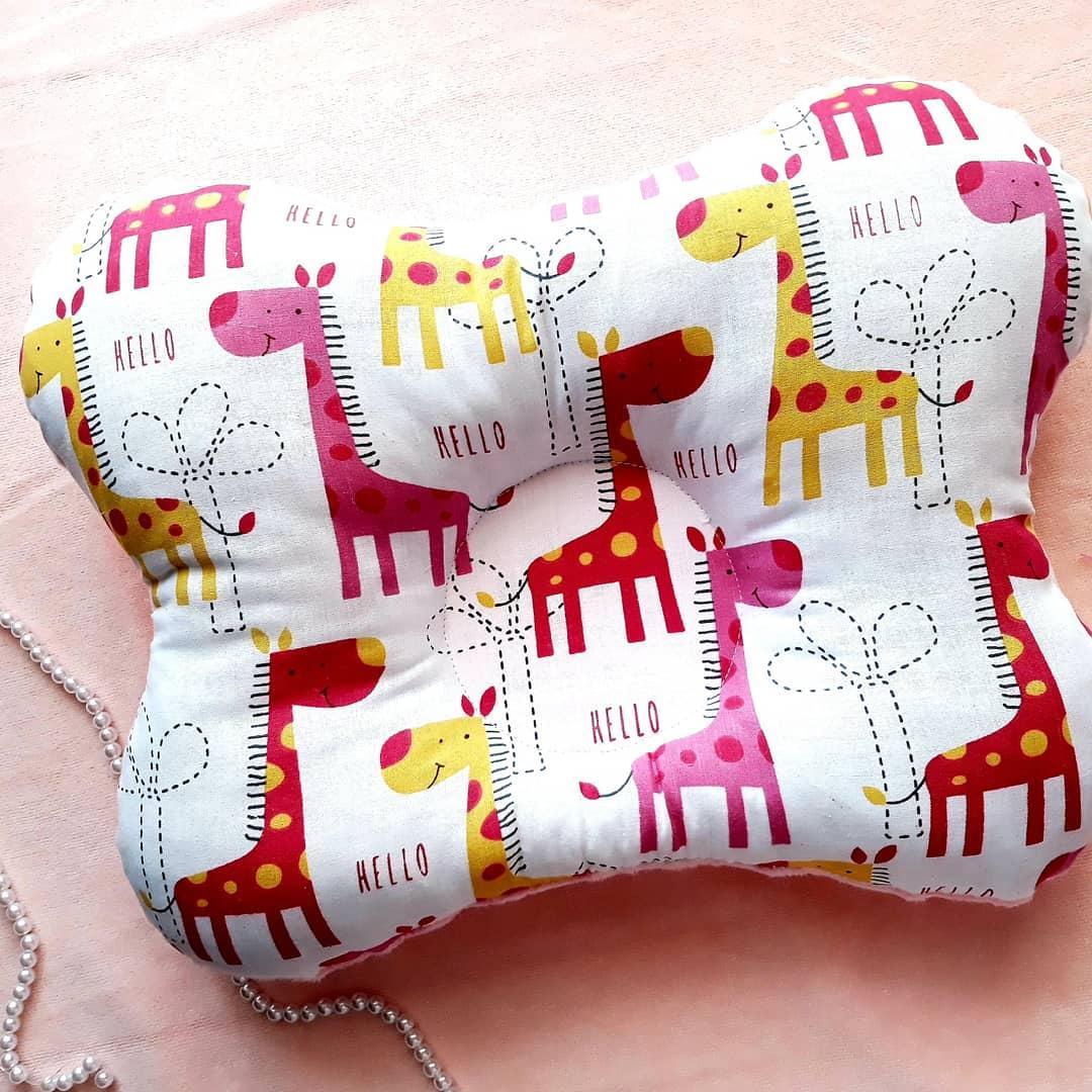 Ортопедическая подушка Жирафики