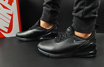 Мужские Кроссовки Nike Air Max 270 арт.20599 (мужские, черные), фото 3