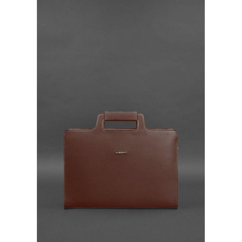 Женская сумка для ноутбука и документов виноград - бордовая