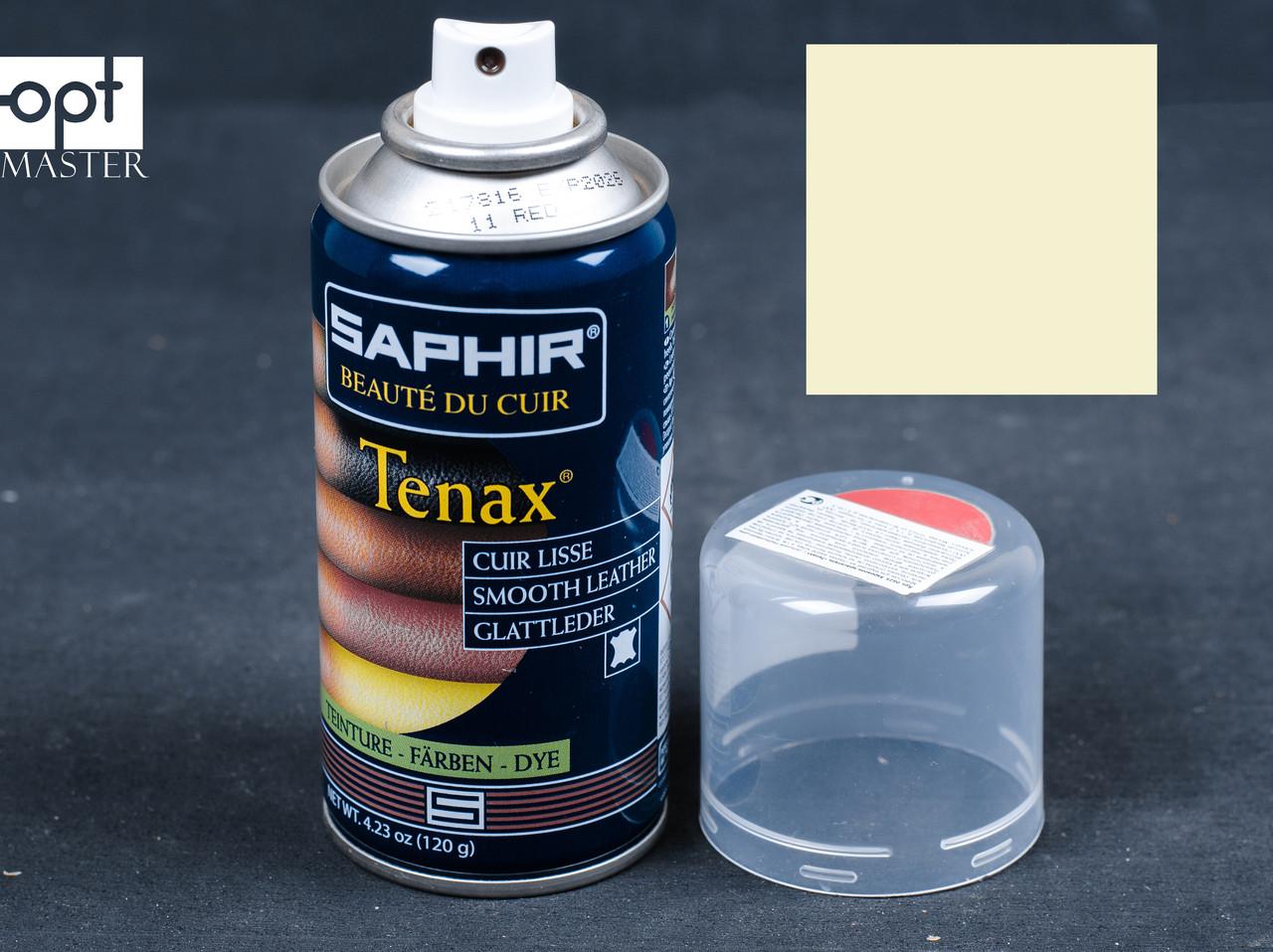 Аэрозольная краска цв.беловатый для гладкой кожи Saphir Tenax Spray, 150 мл (0823)(63)