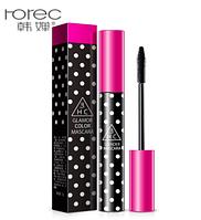 Тушь для ресниц Rorec 3HC Glamour Color Mascara объемная подкручивающая (8г), фото 1