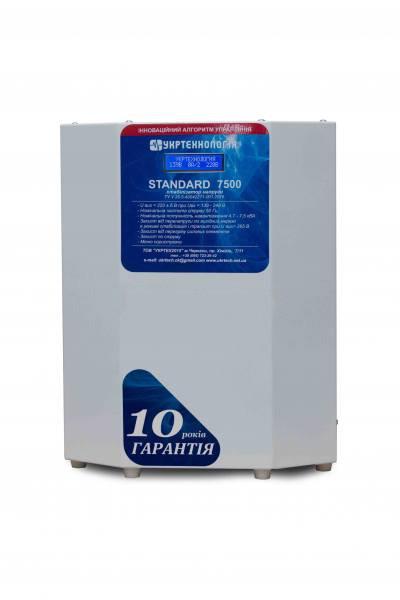 Однофазный стабилизатор Укртехнология Standart 7500