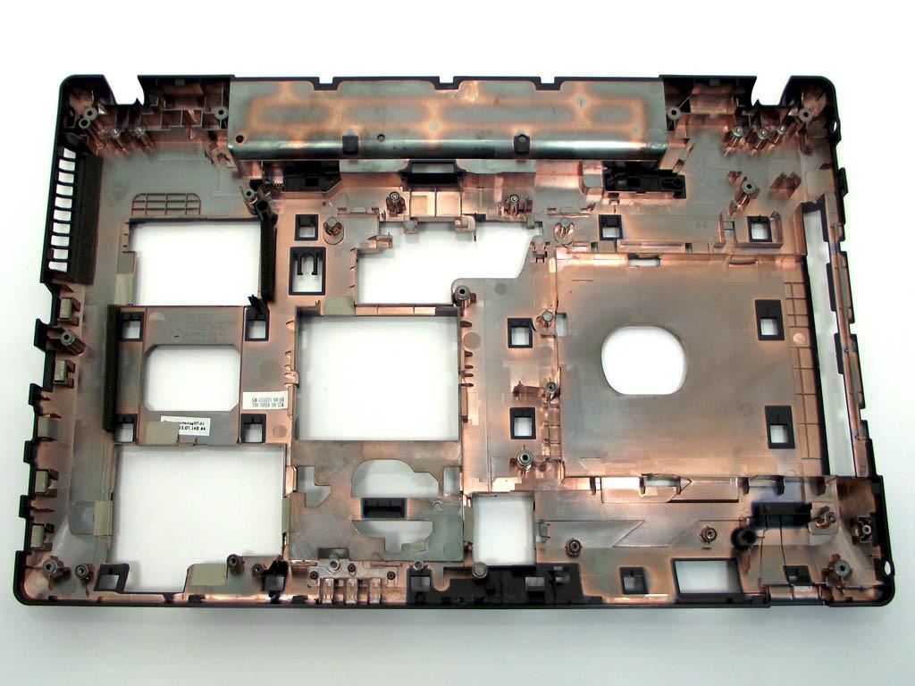 Корпус для ноутбука Lenovo G580, G585 (Версия 2) (Plastic) (Нижняя крышка (корыто)). (AP0N2000G00,