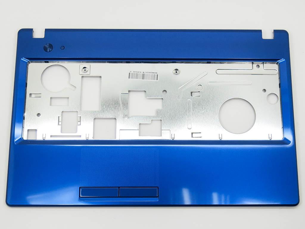 Корпус для ноутбука Lenovo G580, G585 (Версия 2) Blue Metalic. (Крышка клавиатуры).